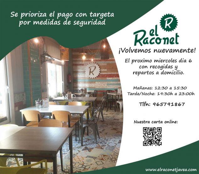 Imagen: El Raconet vuelve a abrir