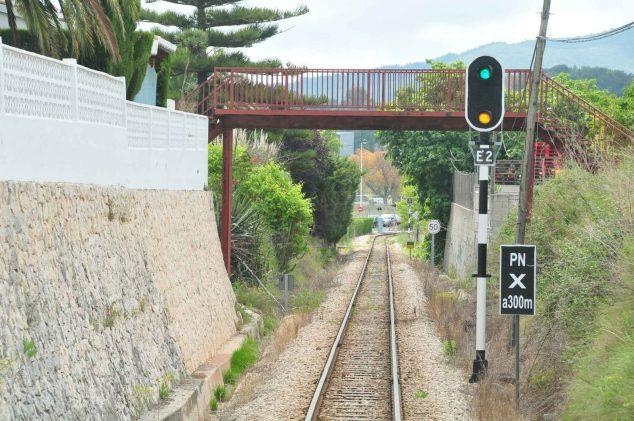 Imagen: Red Ferroviaria Gata-Dénia