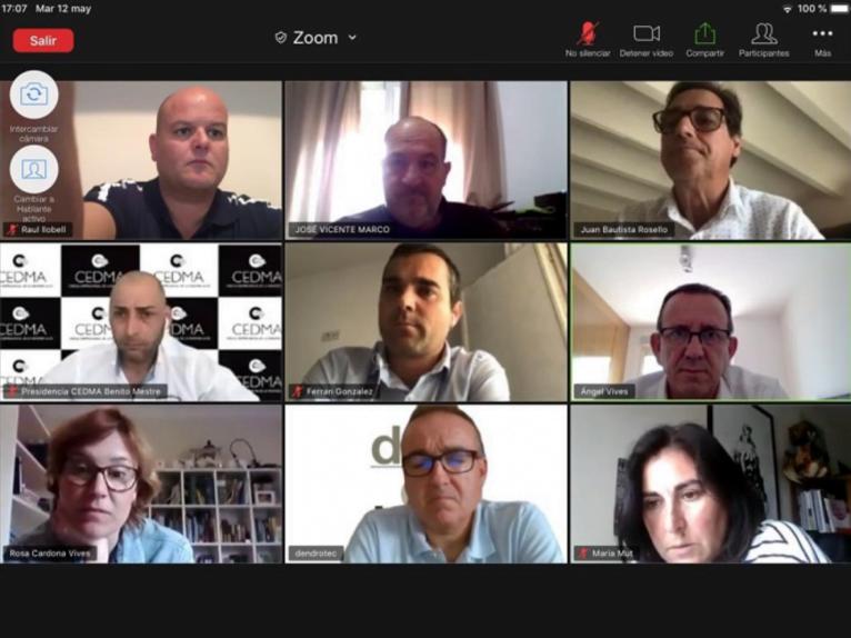 Reunión del CEDMA
