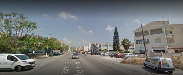 Imagen: Tramo sobre el que se está redactando el proyecto de reurbanización