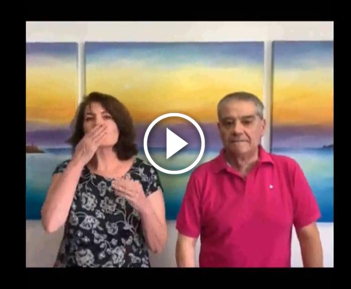 Video agradecimiento sanitario