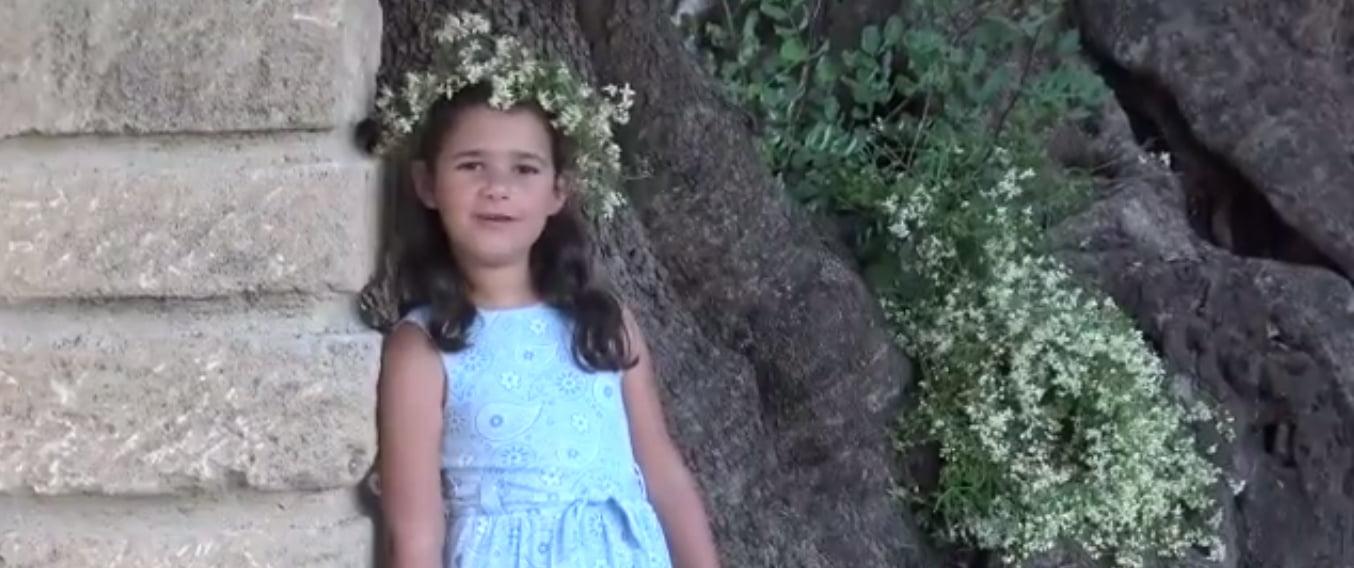 Ariadna, regina infantil Fogueres 2020