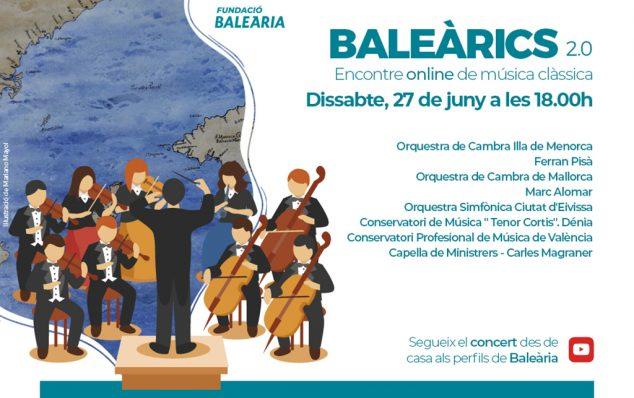 Imagen: Cartel encuentro de música clásica