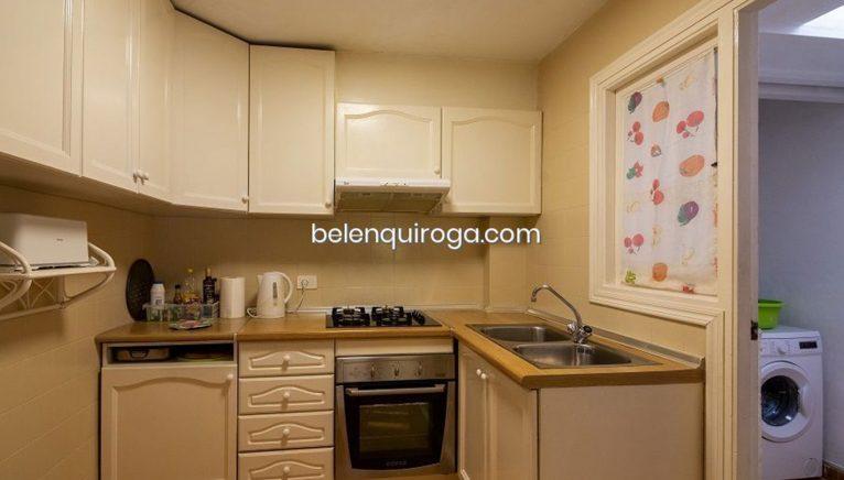 Cocina de un bungalow en venta en Jávea - Inmobiliaria Belen Quiroga