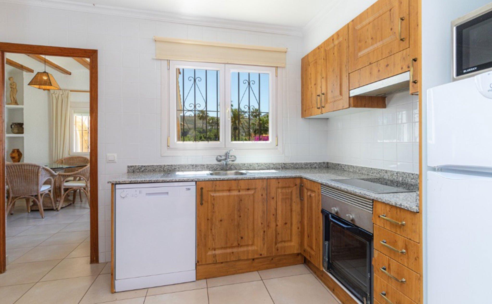 Cocina equipada un chalet en venta en Jávea – Vicens Ash Properties