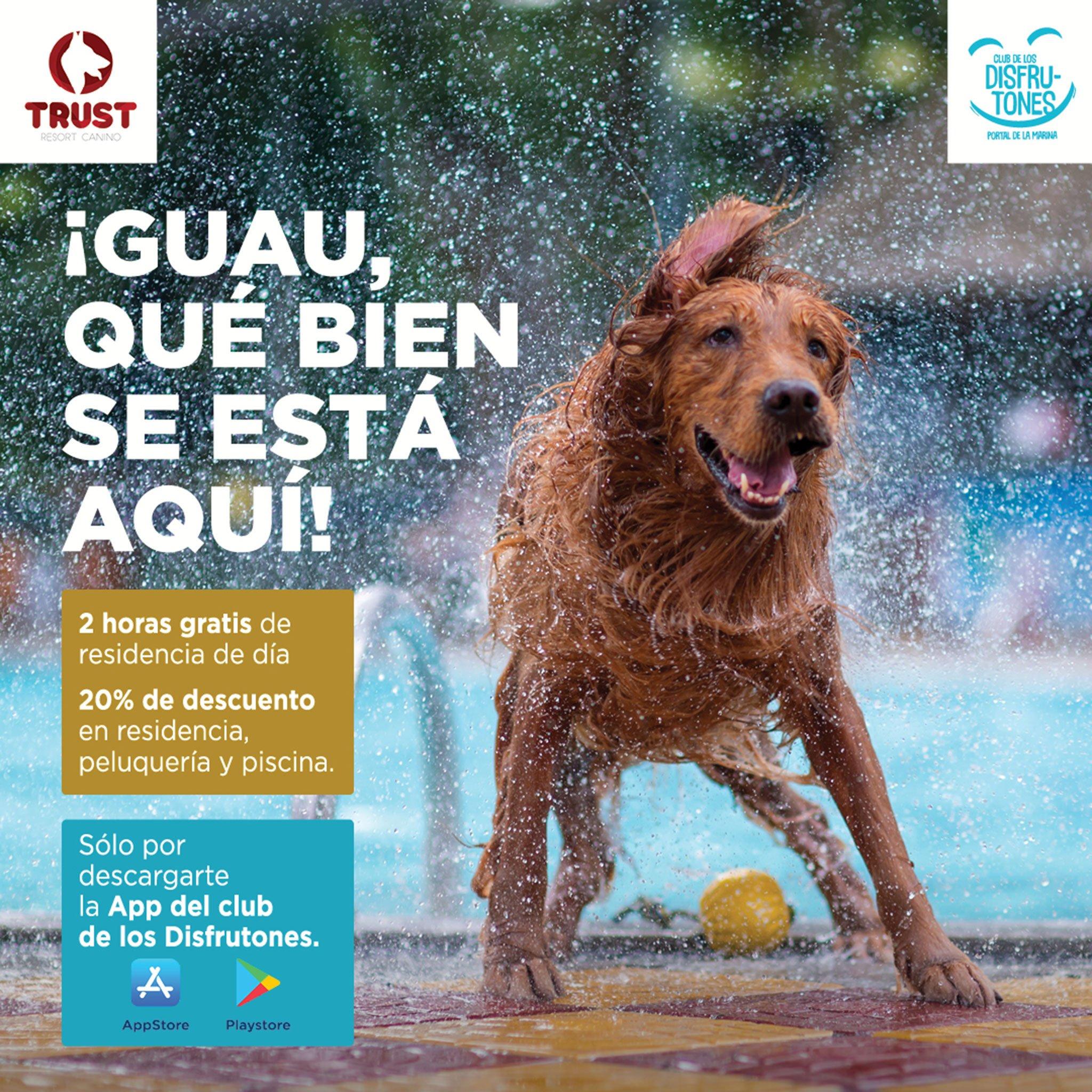 Acuerdo de colaboración entre el centro comercial Portal de la Marina y Trust Resort Canino
