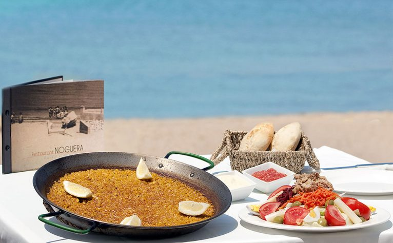 Comer arroz en la playa en Dénia – Restaurant Noguera