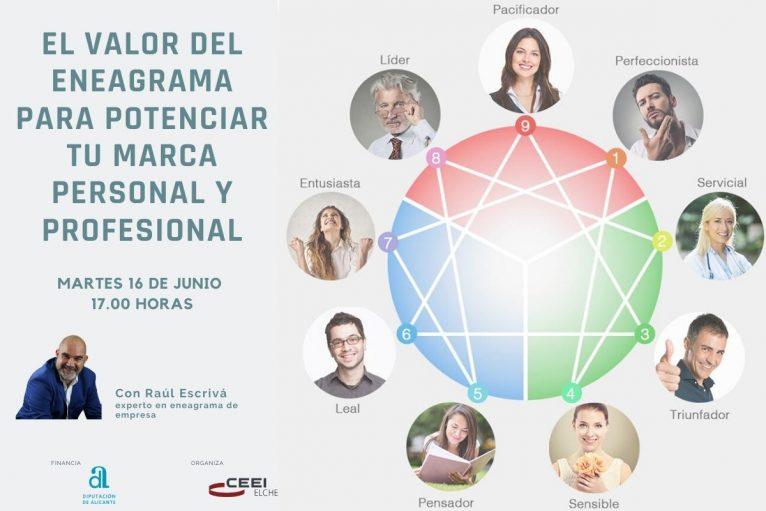 Conferencia de Raúl Escrivà sobre eneagrama en la empresa