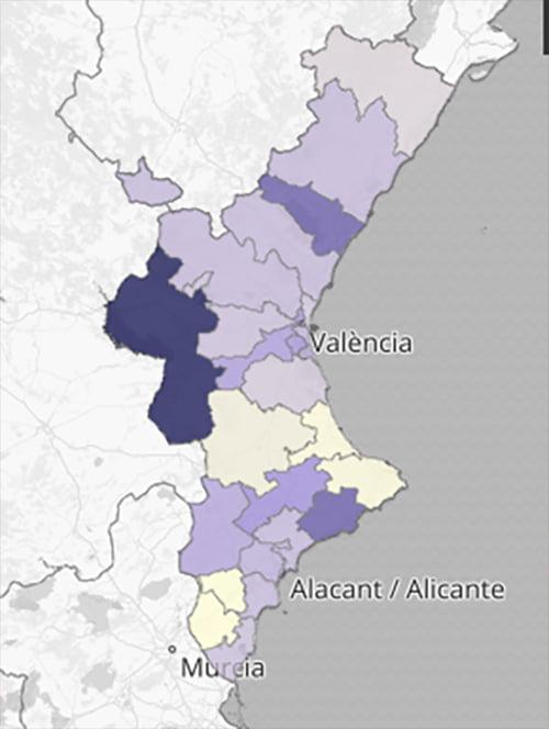 Imagen: Departamentos de Salud de la Comunitat Valenciana