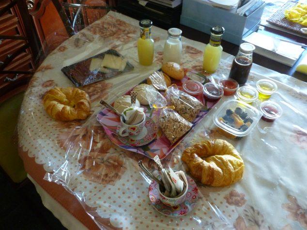 Imagen: Desayuno sorpresa durante el confinamiento
