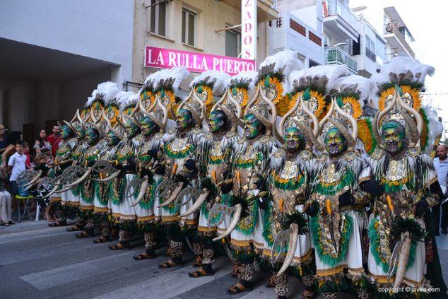 Imagen: Filà Al-Tarik's en el desfile de gala de 2019