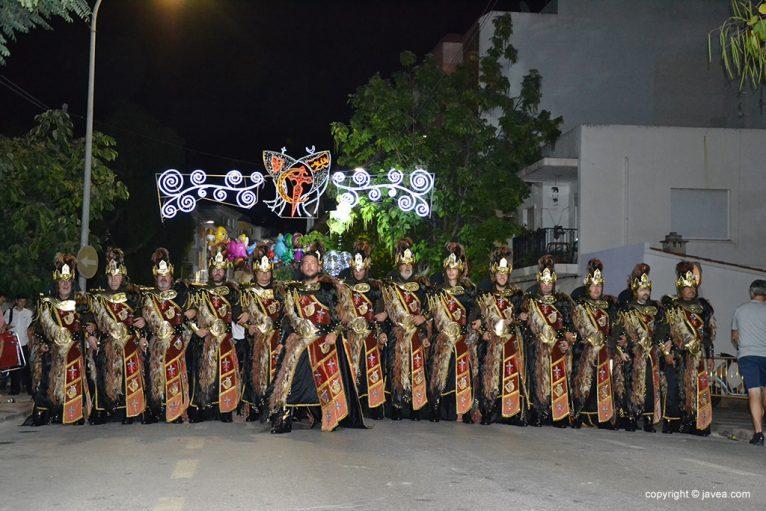 Desfile de la Filà Trabuquers en 2018