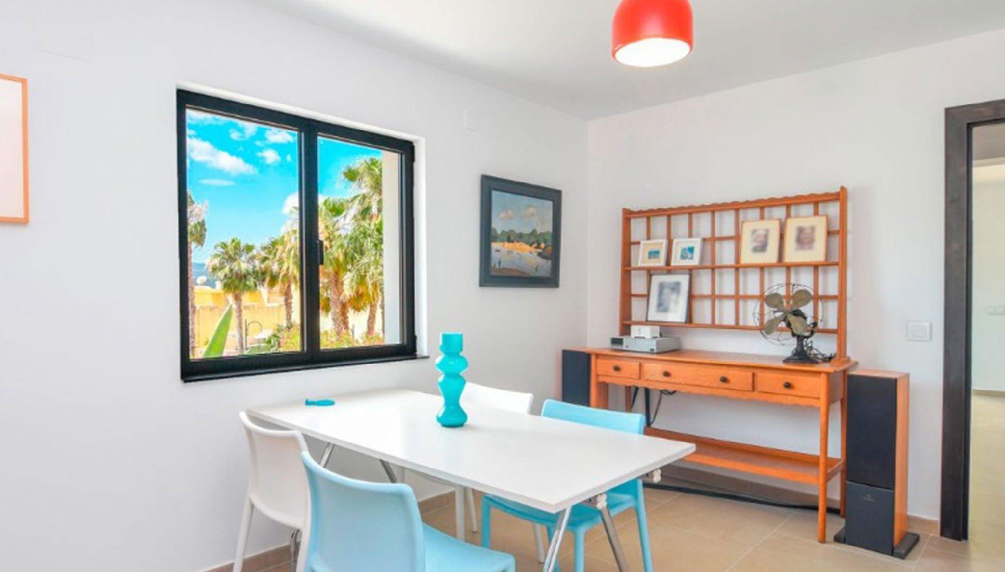 Habitación de trabajo en una villa en venta en el puerto de Jávea – MORAGUESPONS Mediterranean Houses