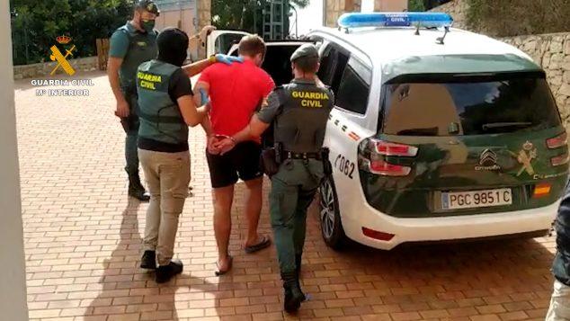 Imagen: Detenido Operación Chonko