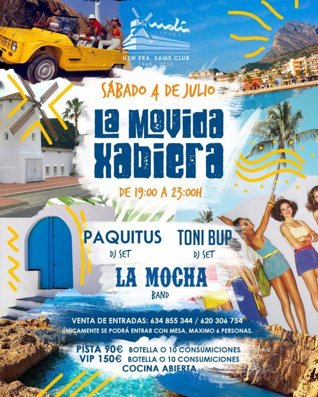Imagen: El Moli Jávea celebra la Movida Xabiera
