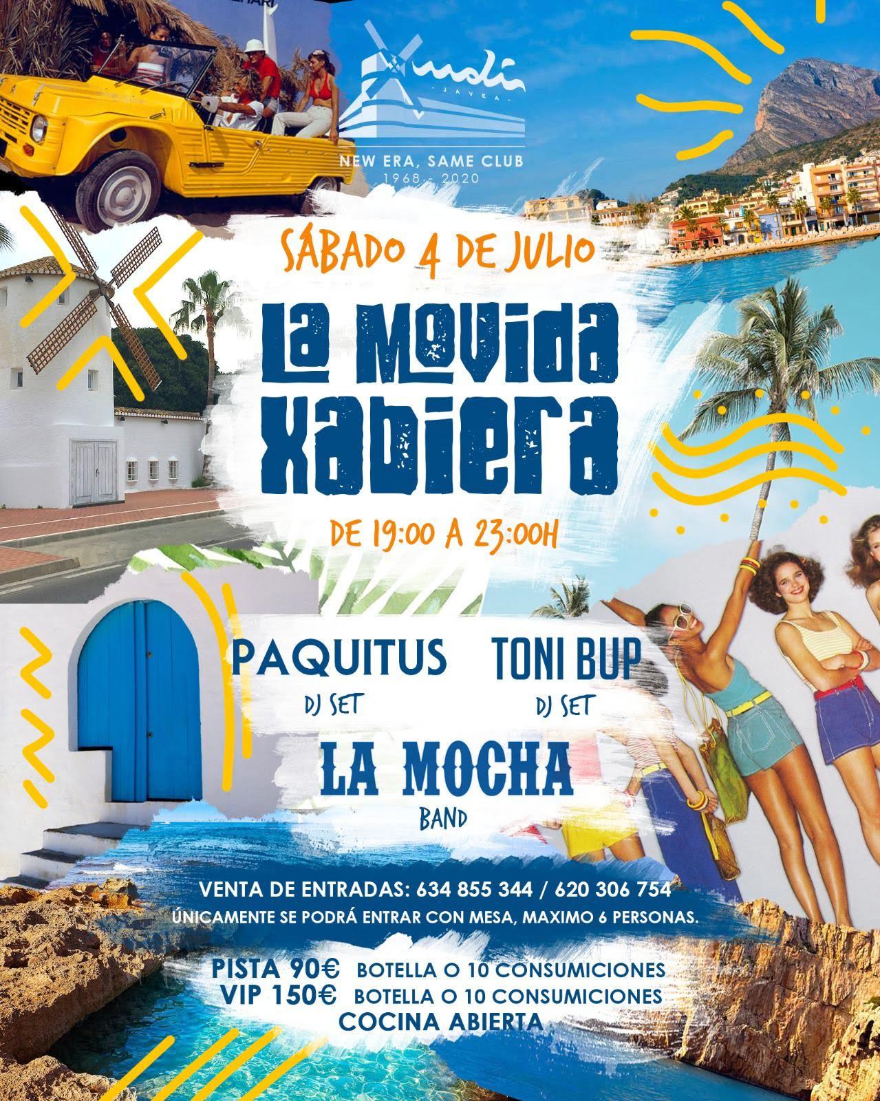 El Moli Jávea celebra la Movida Xabiera