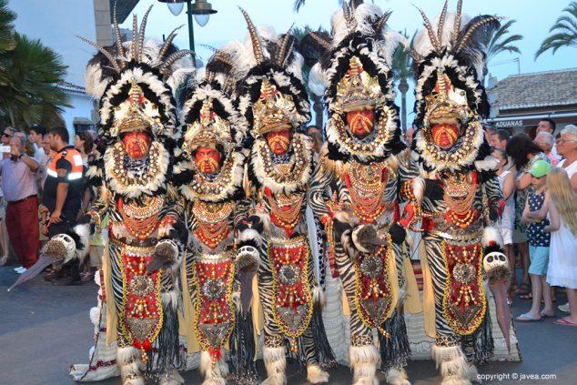 Imagen: Escuadra de la Filà-Al-Tarik´s
