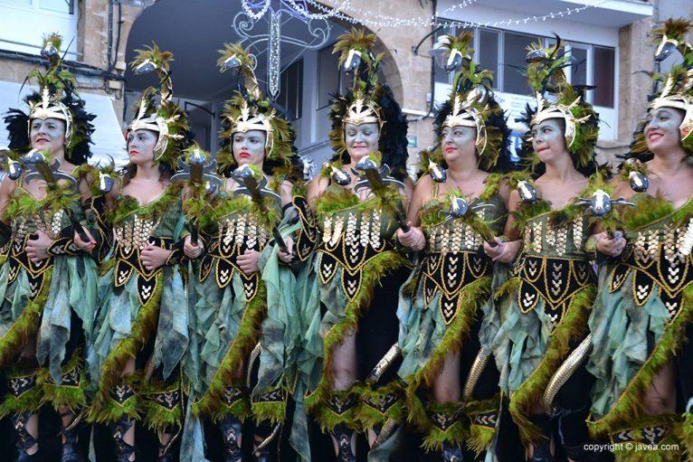 Escuadra de mujeres de Filà Trabuquers