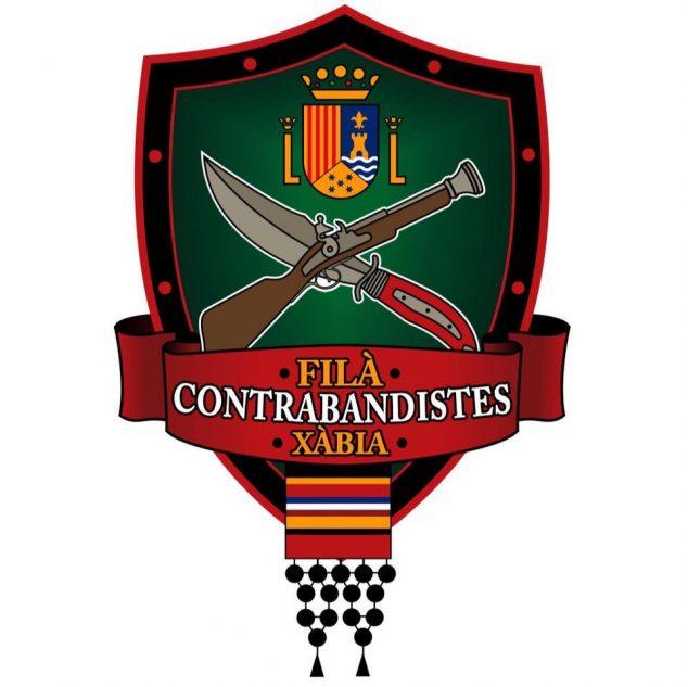 Imagen: Escudo de la Filà Contrabandistes