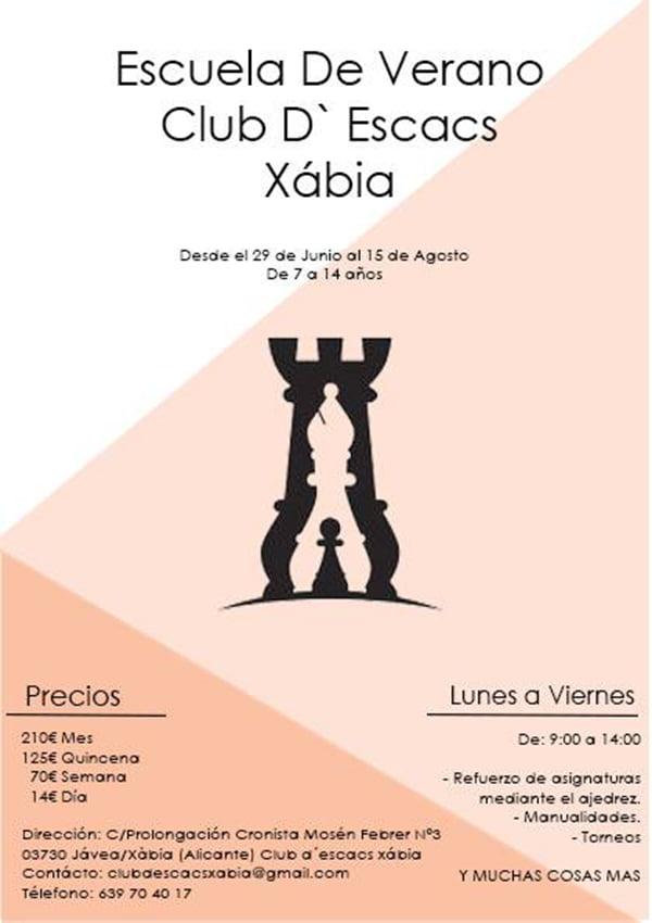 Imagen: Escuela de Verano Club d'Escacs