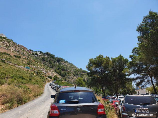 Imagen: Estacionamiento en Pic Tort-Cala de la Granadella