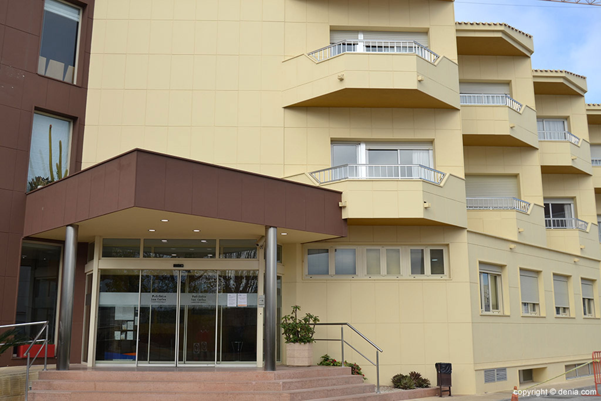 Exterior de HLA San Carlos en Dénia