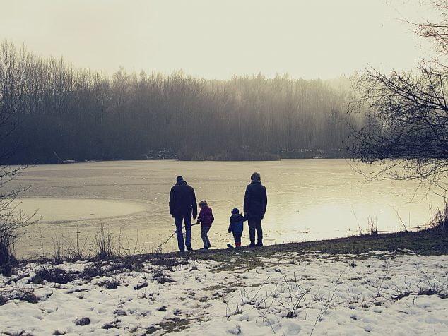 Imagen: Familia de abuelos con nietos