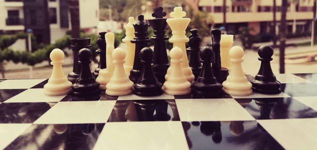 Imagen: Fichas de ajedrez
