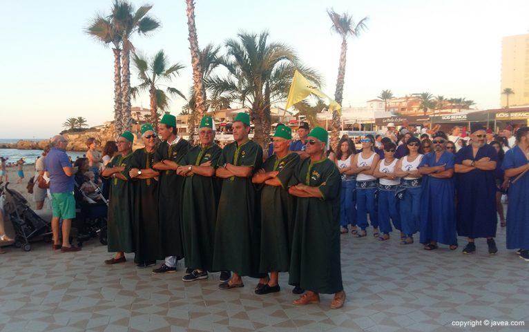 Filà Al-Tarik's en el desfile del Arenal