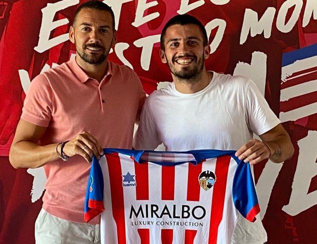 Imagen: Fran Serrano nuevo jugador del CD Jávea