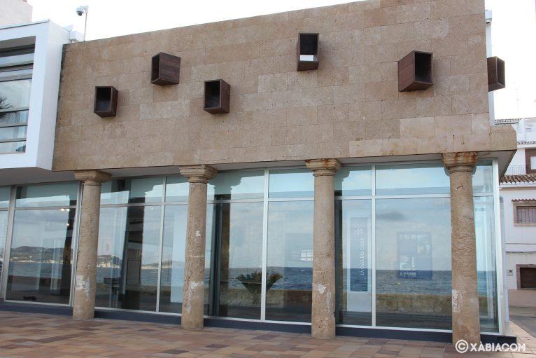 La nueva construcción conservó los pilares de tosca