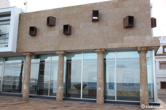 Imagen: La nueva construcción conservó los pilares de tosca