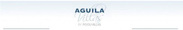 Logotipo de Aguila Rent a Villa
