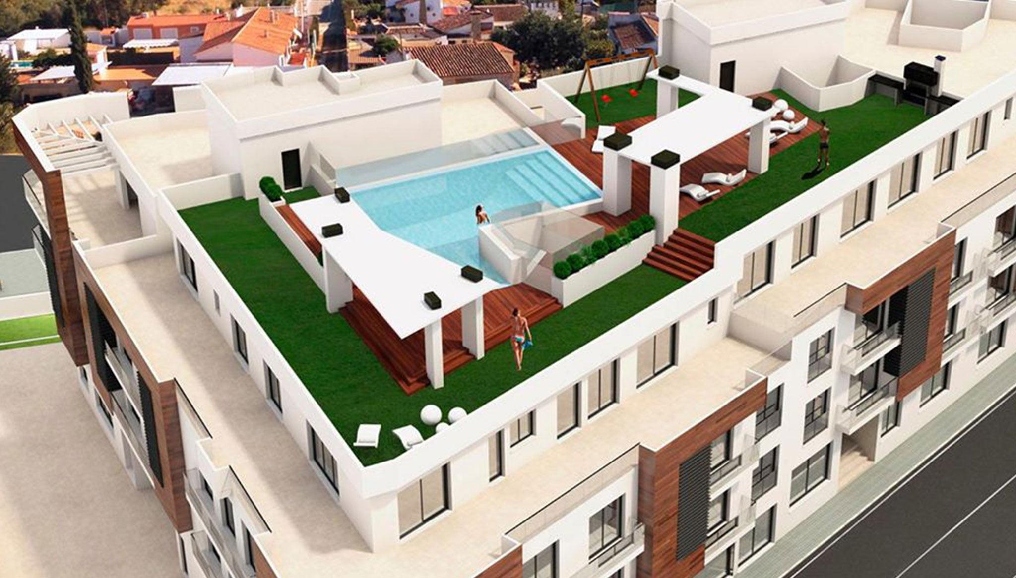Vista general de apartamentos en venta – Fine & Country Costa Blanca Norte