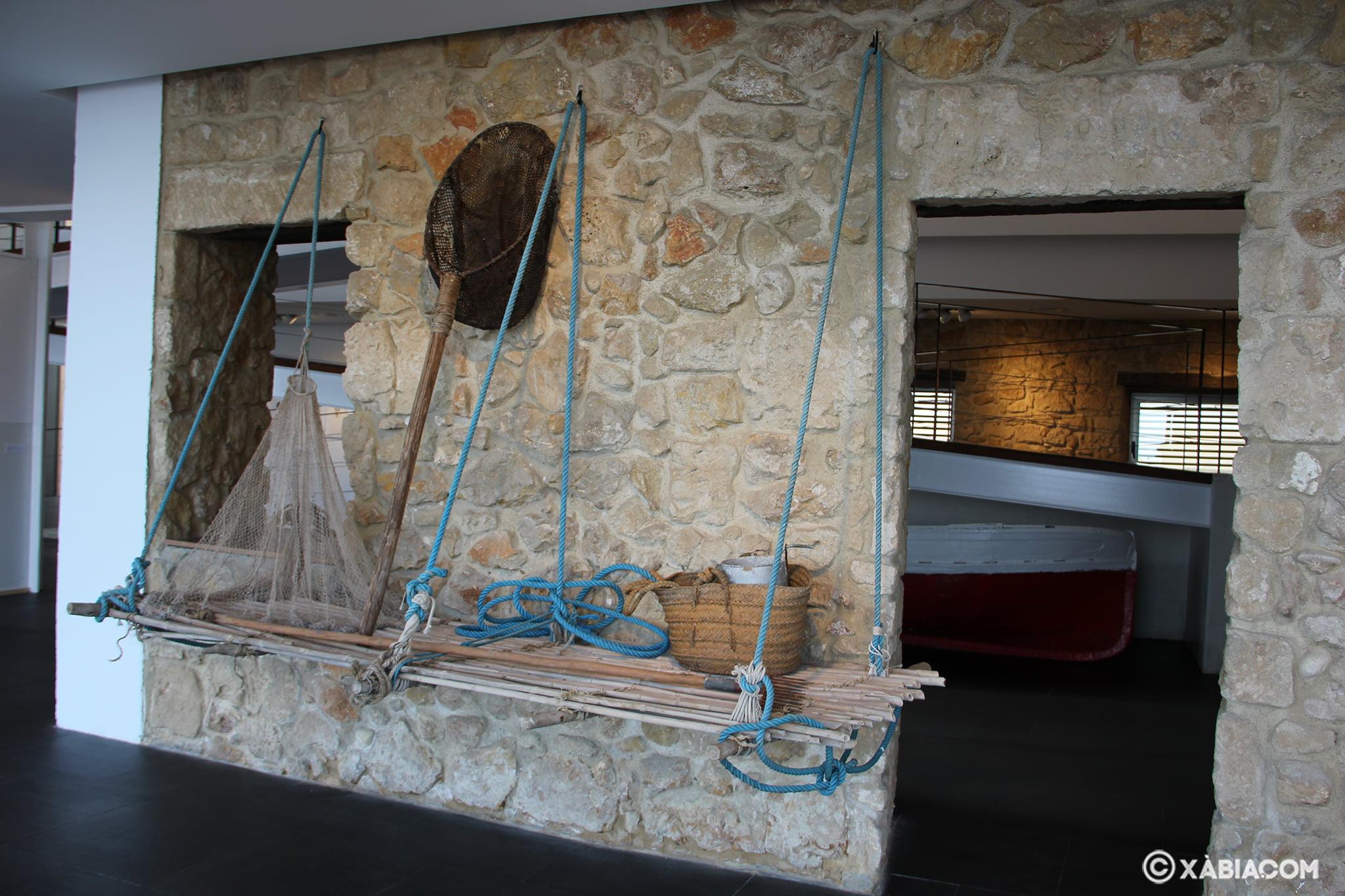 Mecanismo de la antigua forma de pescar