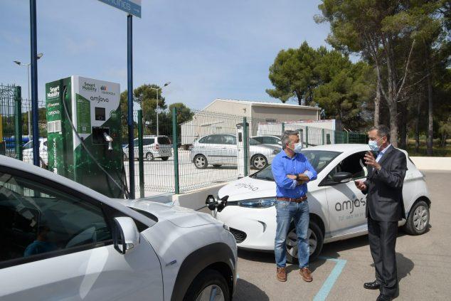 Imagen: Nueva estación de recarga de vehículos eléctricos