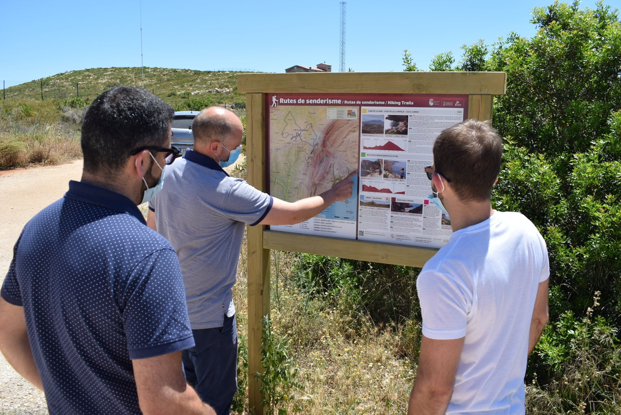 Nueva ruta senderista El Poble Nou de Benitatxell