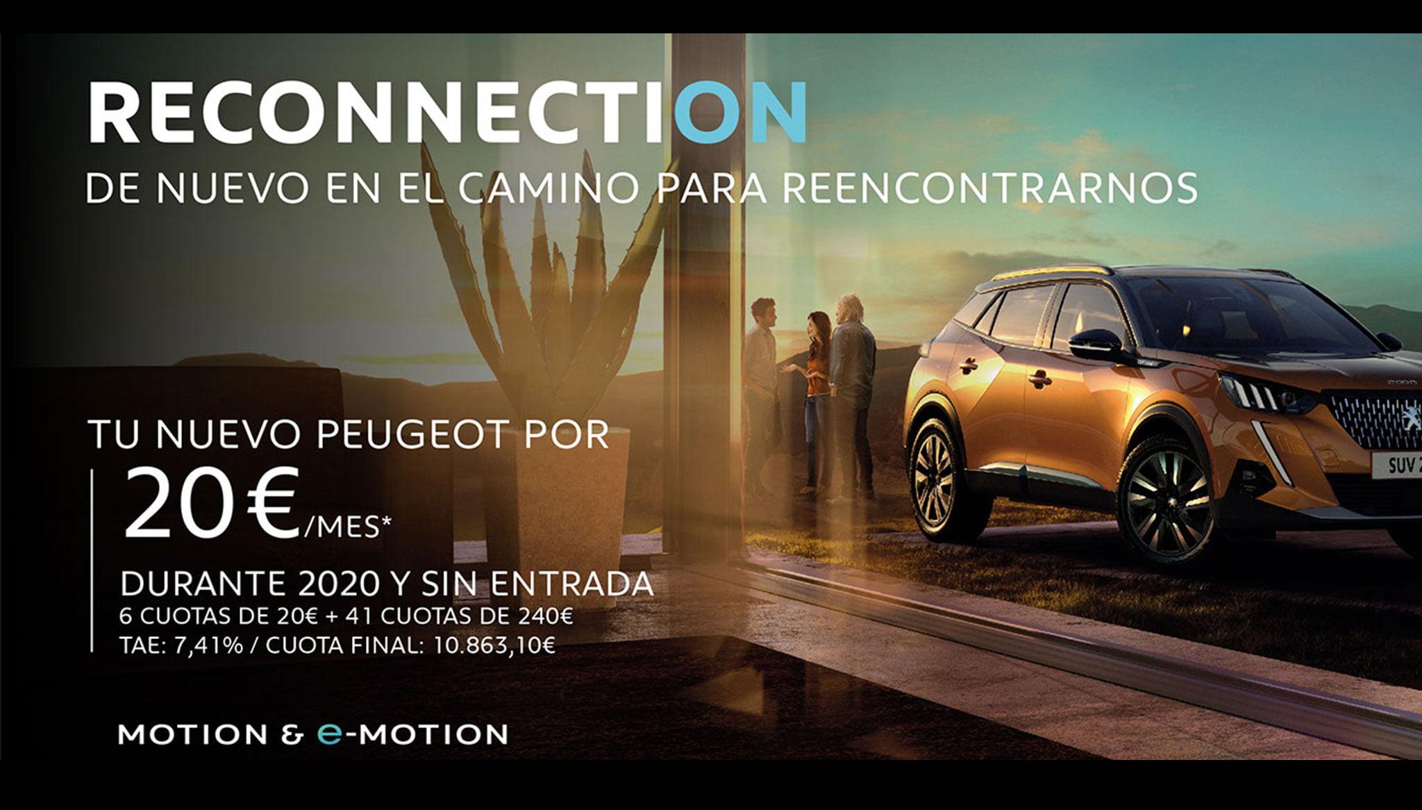 Tu nuevo Peugeot con una cuota única de 20€ – Peumóvil