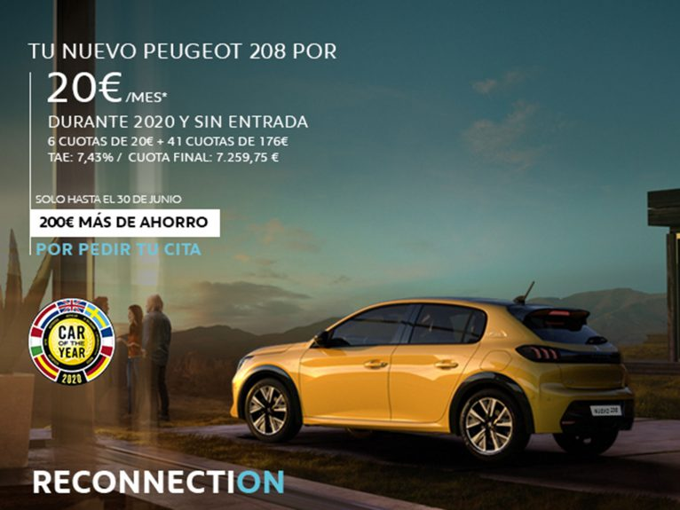 Nuevo Peugeot 208 con Reconnection - Peumóvil