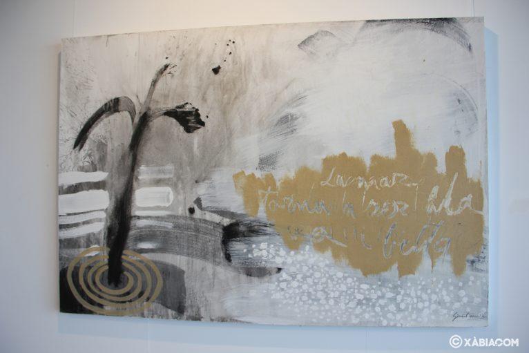 Obra de Ginestar de la exposición 'D'ahir i d'ara' en la Casa del Cable
