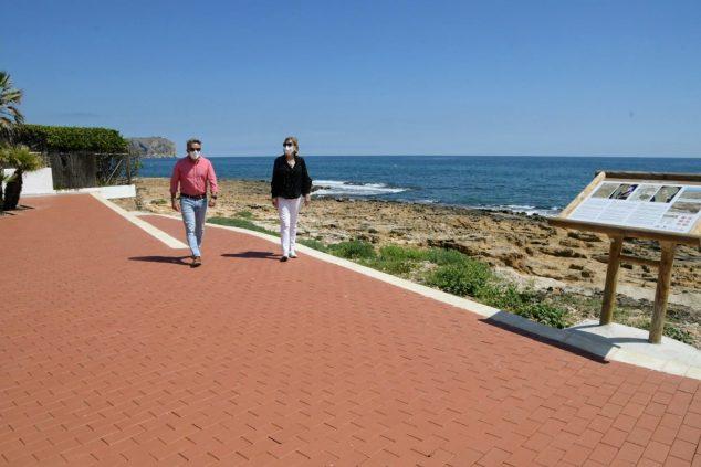 Imagen: Paseo de la Caleta con las obras finalizadas