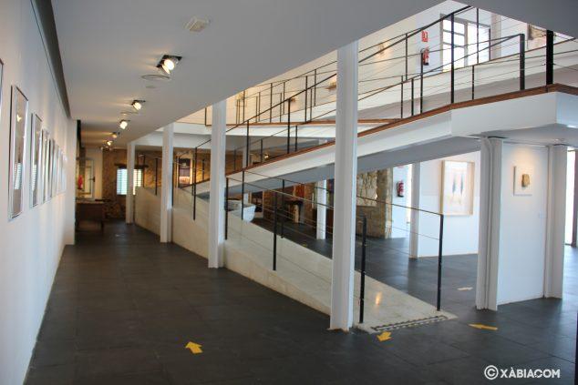 Imagen: Planta baja o Primera planta de la sala de exposiciones Casa del Cable