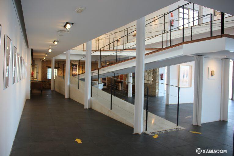 Planta baja o Primera planta de la sala de exposiciones Casa del Cable