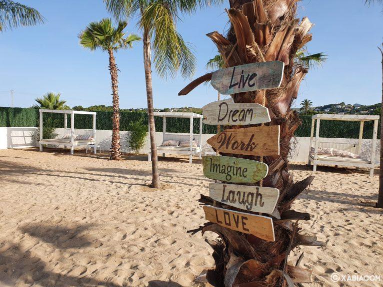 Playa de arena - Isla Bonita