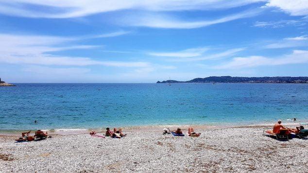 Imagen: Playa de la Grava en Xàbia en la Fase 3
