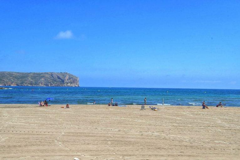 Playa del Arenal de Xàbia