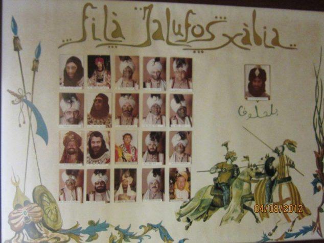 Imagen: Poster de Filà Jalufos Fundacional