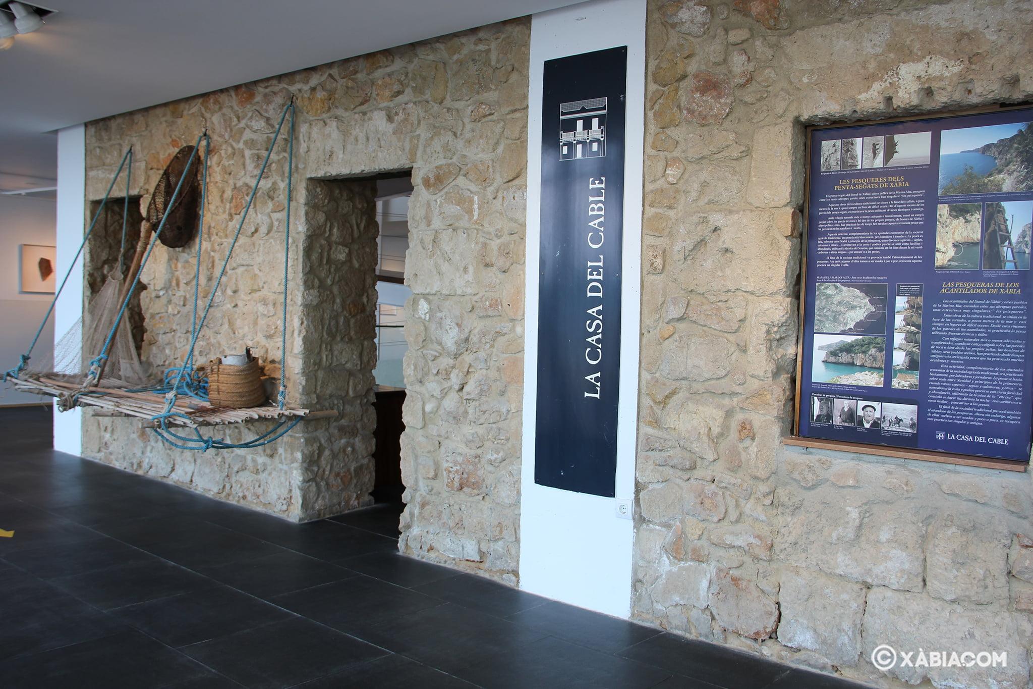Rincón de la Casa del Cable que rinde homenaje a 'Les Pesqueres'