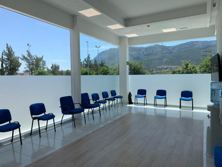 Sala de espera Policlínica Glorieta