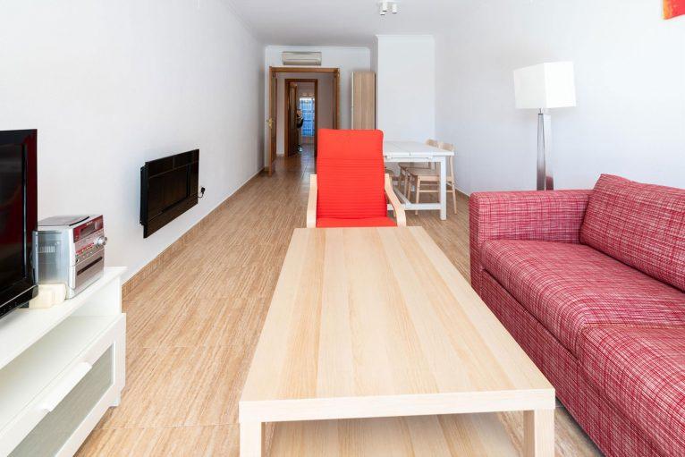 Salón de un apartamento de alquiler en Jávea - Quality Rent a Villa
